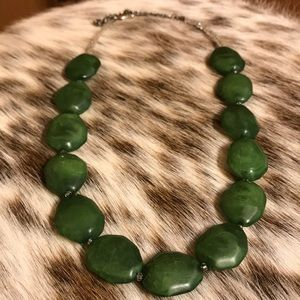Hunter Green Necklace
